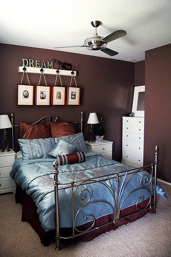 10 Brilliant Brown Bedroom Designs | Decoholic