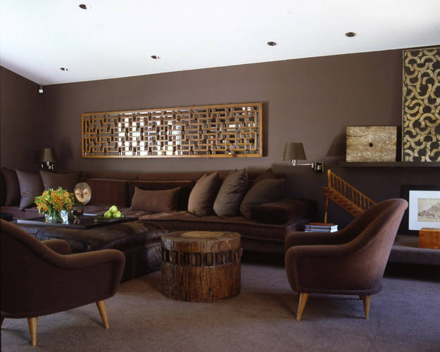 16 fabulous earth tones living room designs decoholic - Decoracion de interiores pintura ...