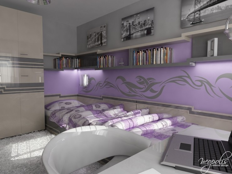 Light Purple Bedroom