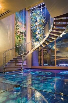 fish tank floor
