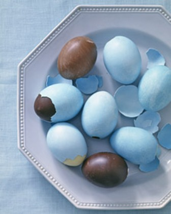handmade easter decorative chocolate eggs recipe