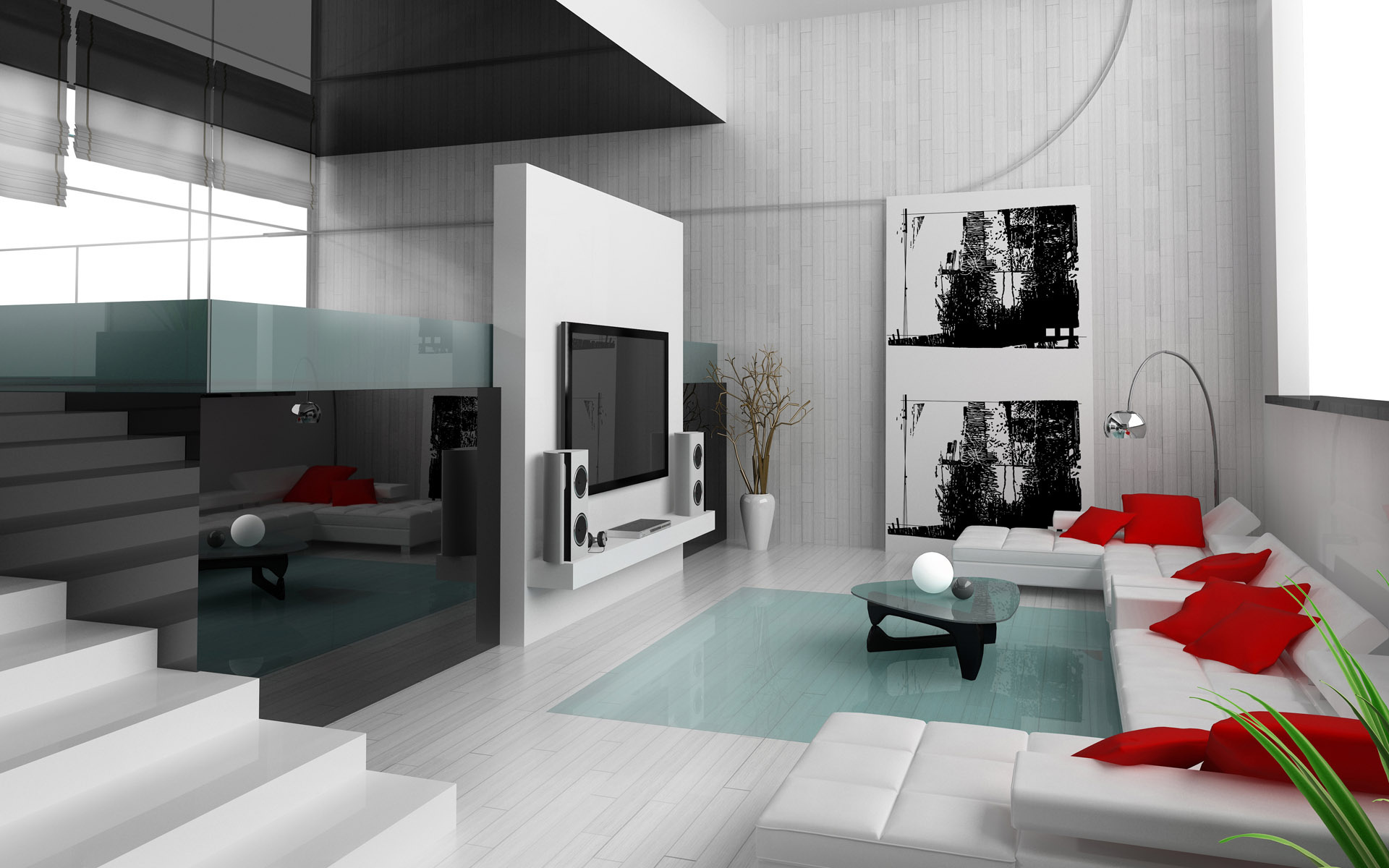 Minimalism 34 great living room designs decoholic for Minimalist living room design