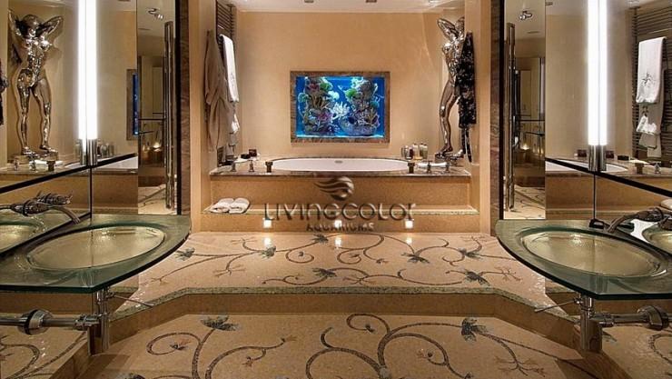 home spa aquarium decorations