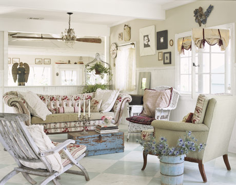 shabby chic living room 25 ideas