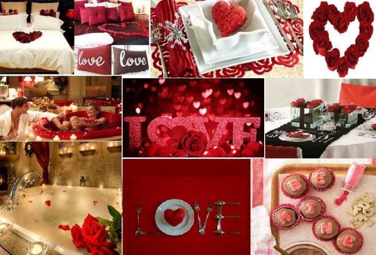 Hot valentine 39 s day decorations decoholic for Home decorations for valentine s day