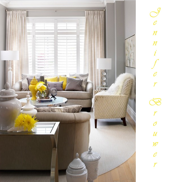 Grey Room Ideas Cool Of Grey Living Room with Yellow Accents Photos