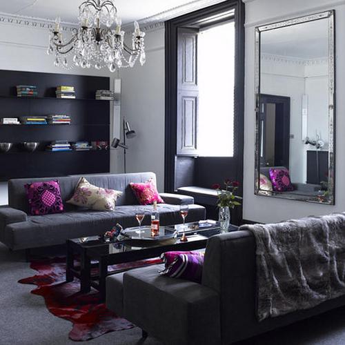 gray living room 31 designs
