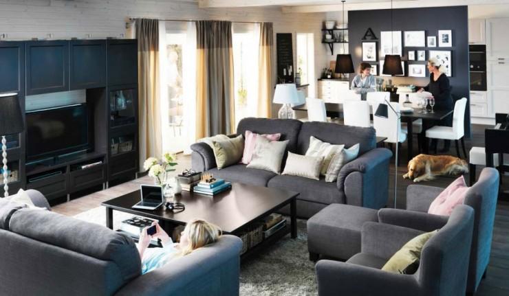 gray living room 43 designs