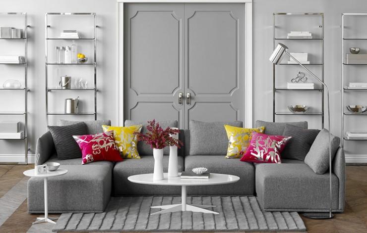 gray living room 56 design ideas