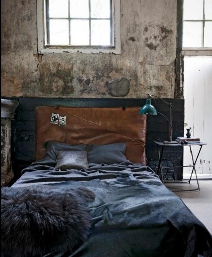 industrial bedroom design 13