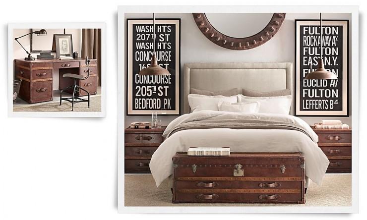 industrial bedroom design 22