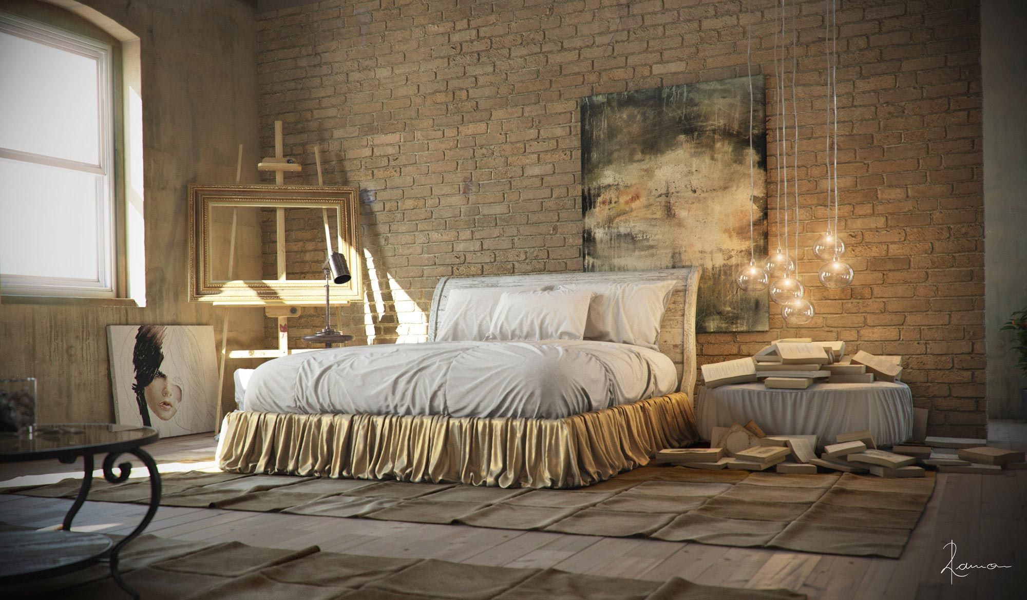 Magnificent Industrial Interior Design Bedroom 2000 x 1169 · 361 kB · jpeg