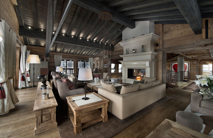 Luxury and Charm Chalet Edelweiss 1850 in France
