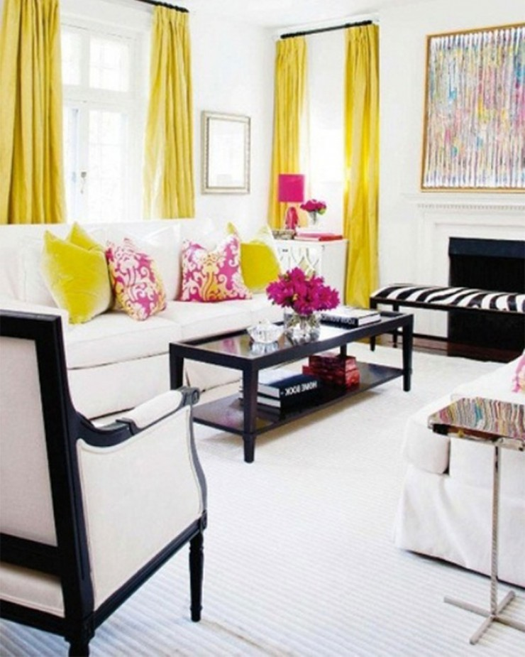 36 living room decorating ideas that smells like spring for Apartment living decorating ideas