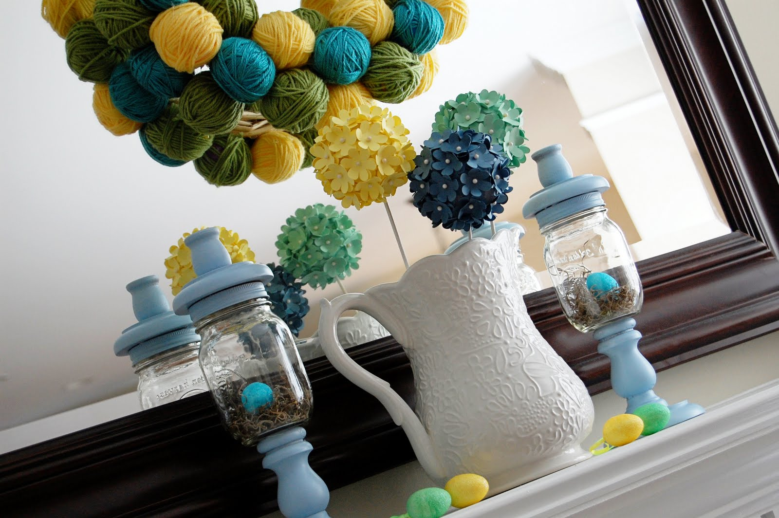 Alex m lynch easter decoration ideas for Easter decorations ideas for the home