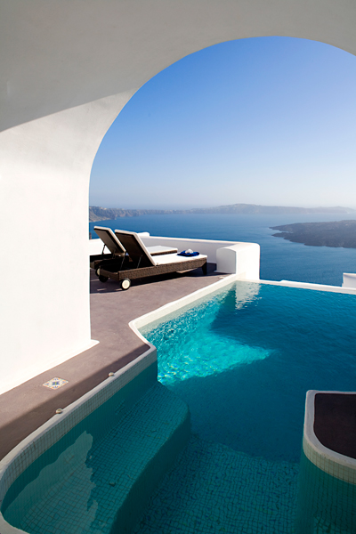 villa in greek island santorini 19