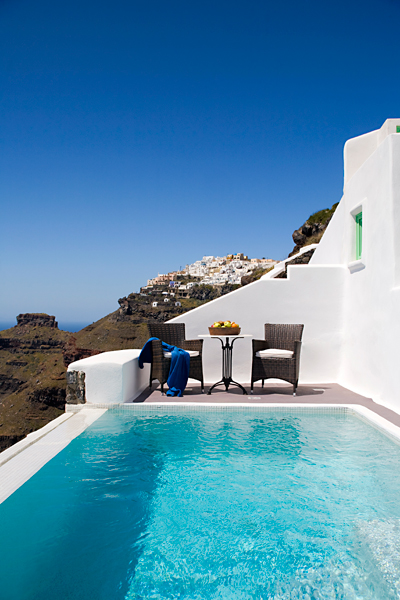 villa in greek island santorini 22