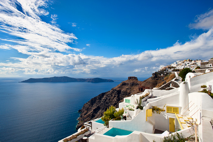 villa in greek island santorini 4